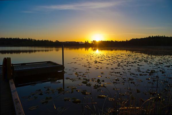 Sun Rise at Hummel Lake Preserve