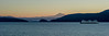 The Ferry Hyak before sunrise,  January 1, 2016
