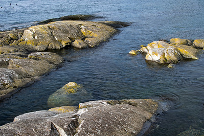 Pillow rocks near Kings Point, Lopez Island