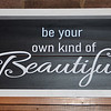 $30.00  BE YOUR OWN KIND OF BEAUTIFUL