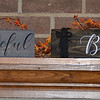$10.00   GRATEFUL AND BLESSED SMALL WOODEN SIGN