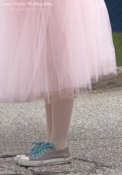 Future Joffrey Ballerina by Lora Mosier<br /> <br /> Every professional ballerina had to start somewhere.<br /> <br /> The run in her stocking (okay, tights....showing my age!) is like the sprinkles on an ice cream cone ~ the perfect topping.