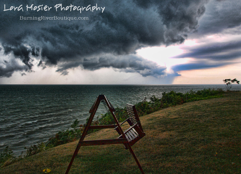 Polterstorm by Lora Mosier<br /> <br /> Had just enough time to get this shot before the deluge of rain sent me running back to the house...had to get my camera to dry land.