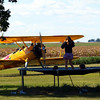 Big and Little Kids at Play by Lora Mosier<br /> <br /> This was taken at Thacker Field during the Metro Warbirds hog roast.