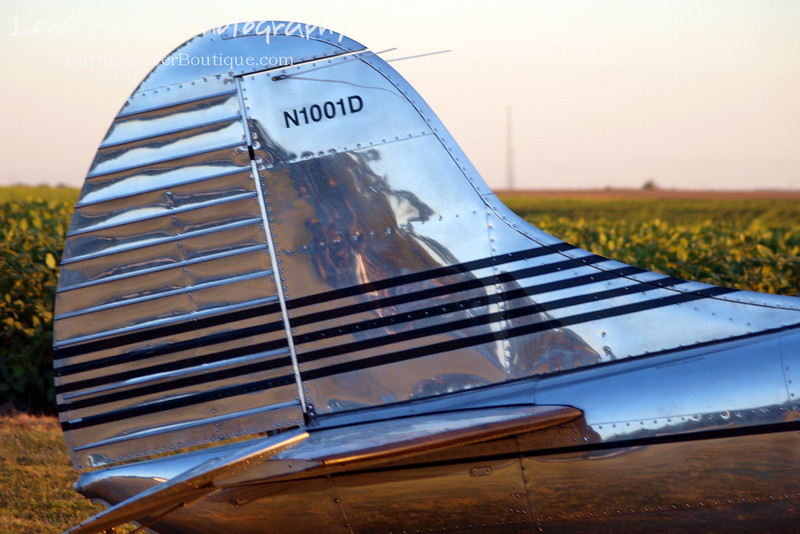 The Tail End by Lora Mosier<br /> <br /> This was taken at Thacker Field during the Metro Warbirds hog roast.