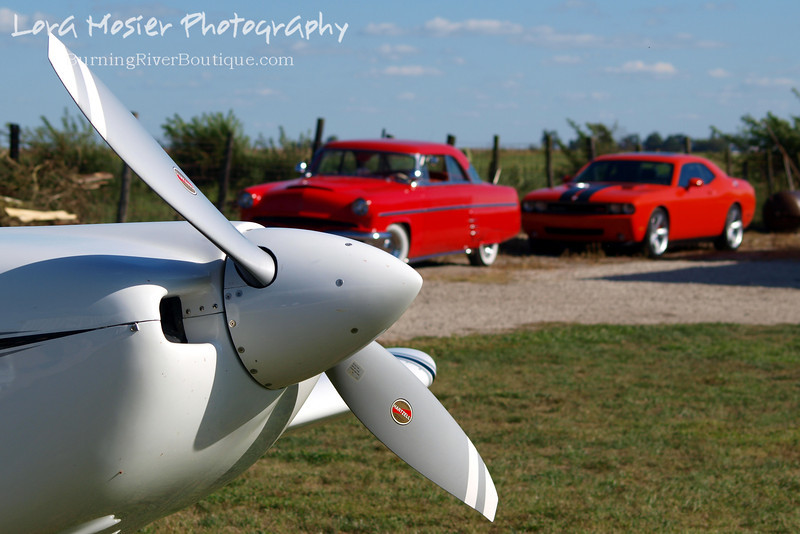 Planes, Trains, and Automobiles (2 out of 3 ain't bad) by Lora Mosier<br /> <br /> This was taken at Thacker Field during the Metro Warbirds hog roast.