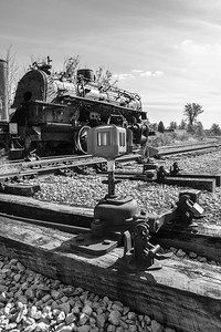 Nickel Plate Road 384 & Switch Stand
