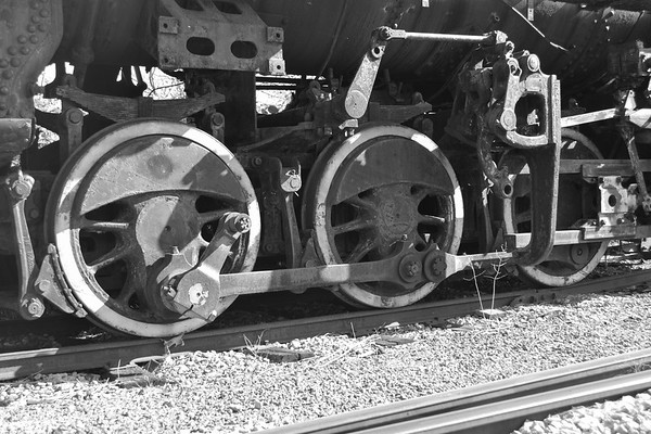 Nickel Plate Road 384's Drive Wheels