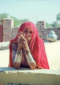 """""""Bishnoi Woman"""""""