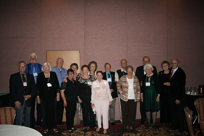 Las Vegas AGM LAX Club Attendees.  Lorna Williams if Front Row, 4th From Left