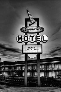 Lorraine Motel Sign