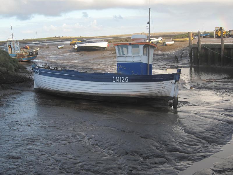 boat in mud