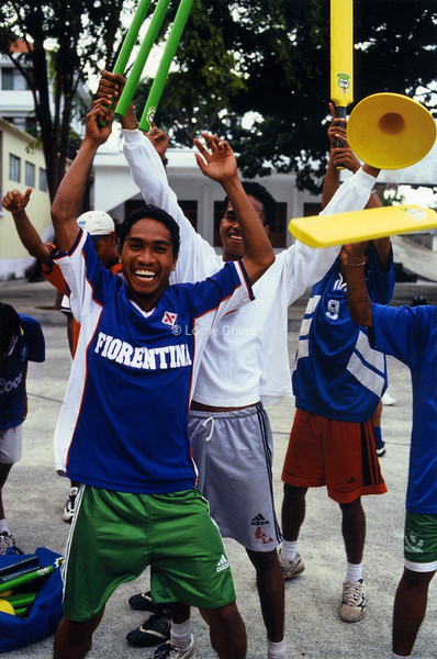 AID - UNICEF New Sports Gear East Timor 2003
