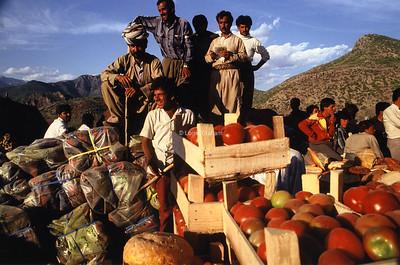 AID - Food drop Northern Iraq 1992
