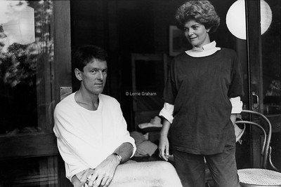 ARTS : David Marr, Writer and Penny Chapman, Film and TV Producer