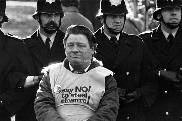 Steelwork Closure Demonstration, London, 1980