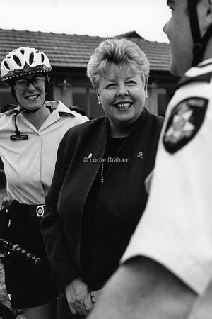 INFLUENCE : Christine Nixon, Victorian Chief Commissioner of Police