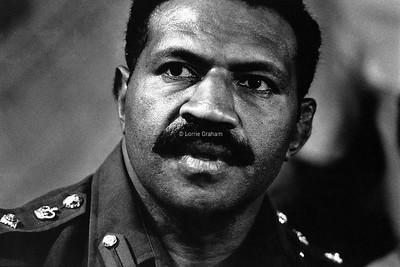 INFLUENCE : General Rambuka, leader of the 1st coup Figi