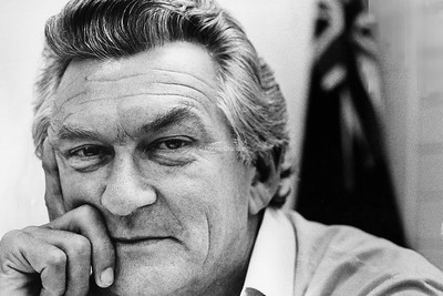 POLITICS : Bob Hawke, ALP Member for Wills,