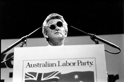 POLITICS : Bob Hawke, ALP Federal Launch, 1983