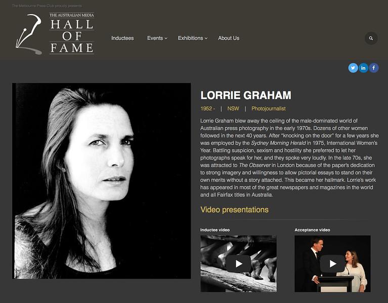 Hall of Fame Grab
