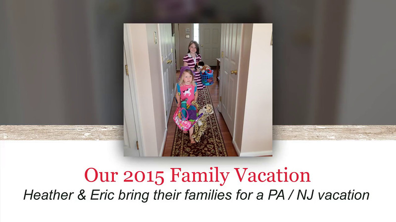 2015 Family Vacation