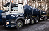 NX64 UAO DAF440 tanker, Waters Waste