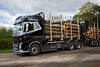 CA11 SGS Volvo FH540 loading timber, Peter Gilbertson and Daughters