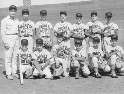 These boys played on one of four major Los Altos Hills Little League teams in the summer of 1964.