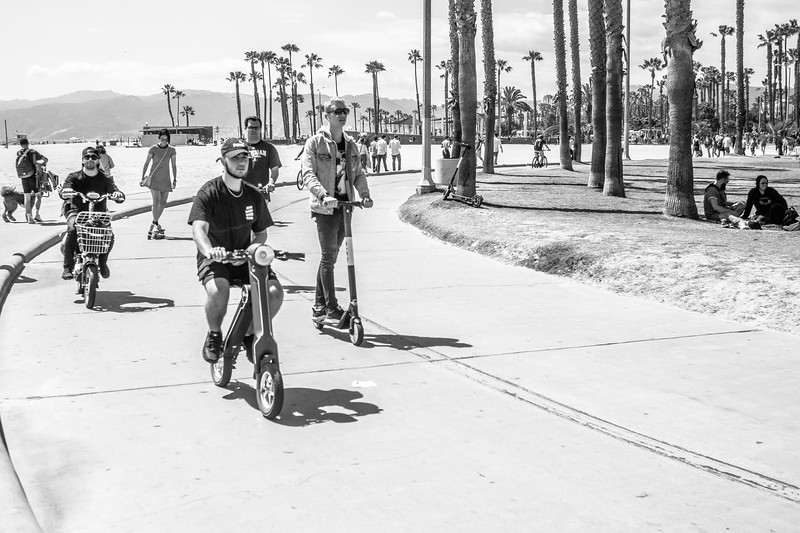 two wheelers @ venice beach