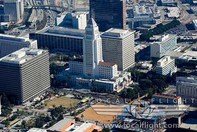 Aerial-Photograph-Los-Angeles-City-Hall-4