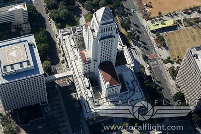 Aerial-Photograph-Los-Angeles-City-Hall-2