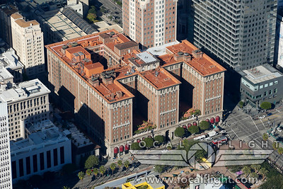 Aerial-Photograph-Los-Angeles-Biltmore-Hotel-1