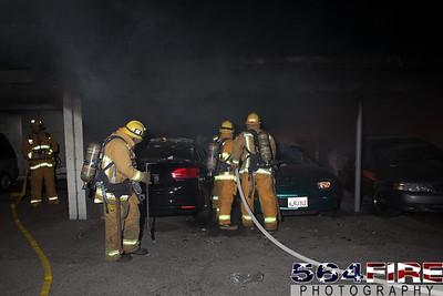 120102 LAFD Arson Magnolia Blvd  & Cedros Ave  -117