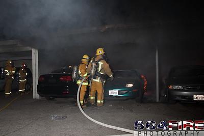 120102 LAFD Arson Magnolia Blvd  & Cedros Ave  -113
