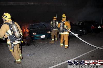 120102 LAFD Arson Magnolia Blvd  & Cedros Ave  -106