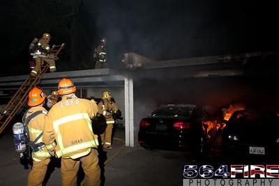 120102 LAFD Arson Magnolia Blvd  & Cedros Ave  -134