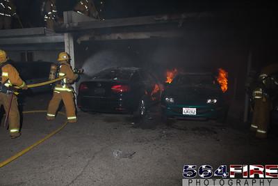 120102 LAFD Arson Magnolia Blvd  & Cedros Ave  -140