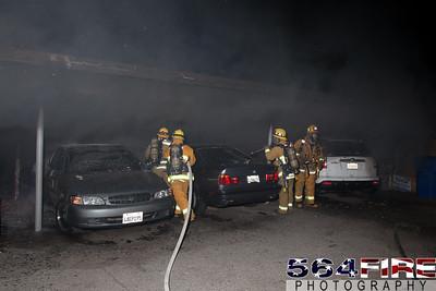 120102 LAFD Arson Magnolia Blvd  & Cedros Ave  -129