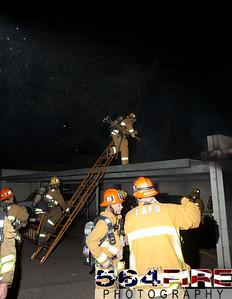 120102 LAFD Arson Magnolia Blvd  & Cedros Ave  -130