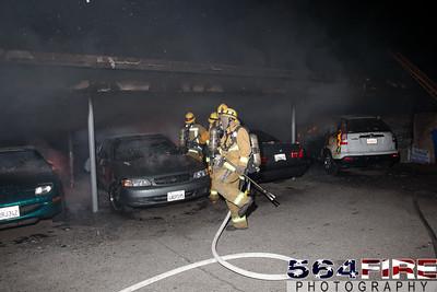 120102 LAFD Arson Magnolia Blvd  & Cedros Ave  -126