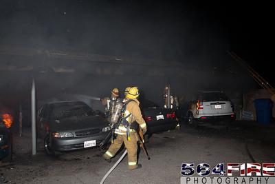120102 LAFD Arson Magnolia Blvd  & Cedros Ave  -127