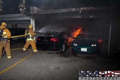 120102 LAFD Arson Magnolia Blvd  & Cedros Ave  -138