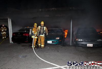 120102 LAFD Arson Magnolia Blvd  & Cedros Ave  -111