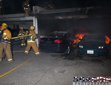 120102 LAFD Arson Magnolia Blvd  & Cedros Ave  -139