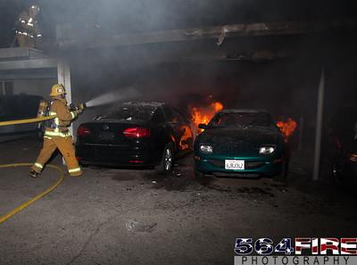 120102 LAFD Arson Magnolia Blvd  & Cedros Ave  -137