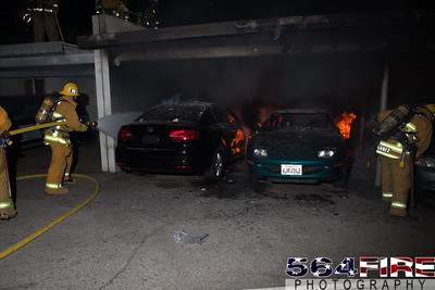 120102 LAFD Arson Magnolia Blvd  & Cedros Ave  -142