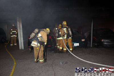 120102 LAFD Arson Magnolia Blvd  & Cedros Ave  -119