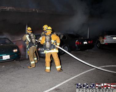 120102 LAFD Arson Magnolia Blvd  & Cedros Ave  -105
