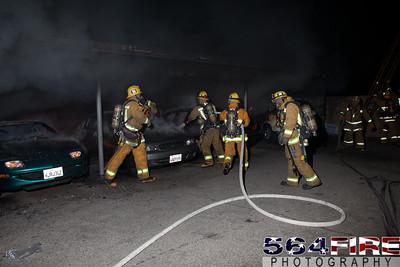 120102 LAFD Arson Magnolia Blvd  & Cedros Ave  -122